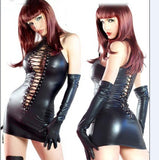 Sexy Women Fetish Black mini dress - Fetish Shop USA
