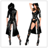 Fetish Long Hooded dress - Fetish Shop USA