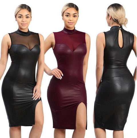 Sexy Wet Look dress - Fetish Shop USA
