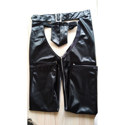 Fetish Men Sexy Open Crotch Pants - Fetish Shop USA