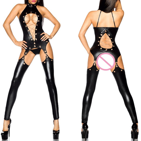 Sexy Women Fetish Latex Catsuit - Fetish Shop USA