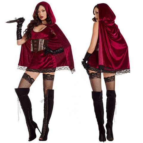 Sexy Little Red Riding Hood Costume - Fetish Shop USA
