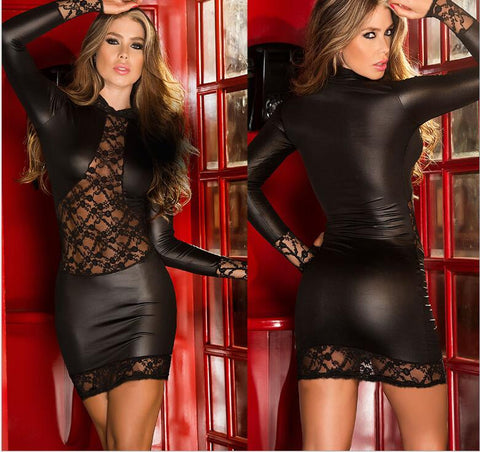 Sexy Black Dress - Fetish Shop USA