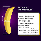Banana Dildo Vibrator - Fetish Shop USA