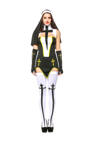 Ladies Sexy Nun Costume - Fetish Shop USA