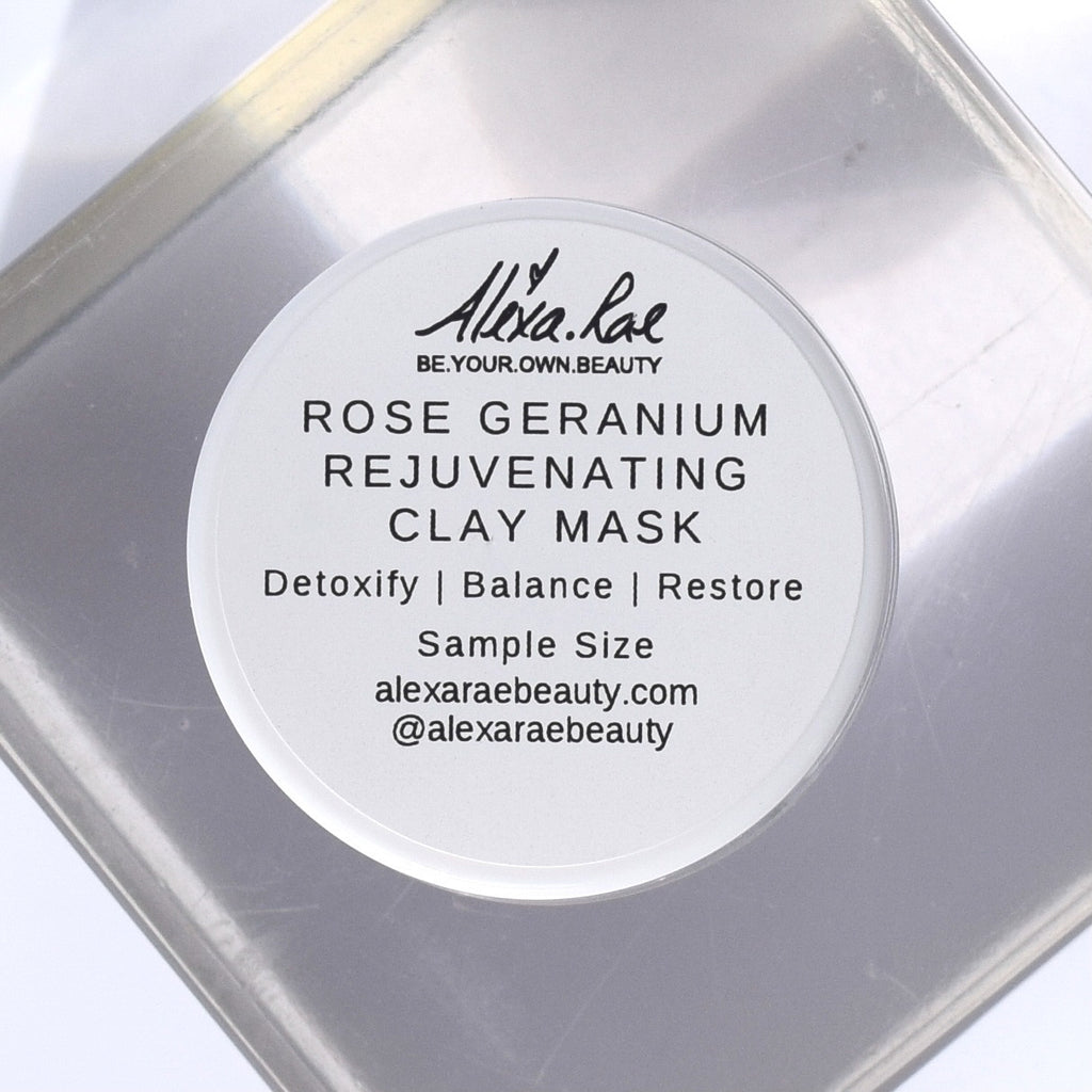 Sample - Rose Geranium Rejuvenating Clay Mask