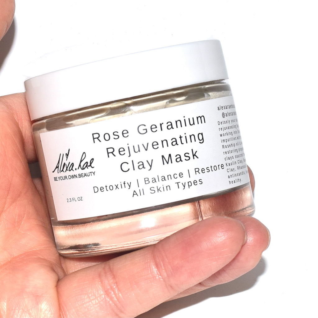 Rose Geranium Rejuvenating Clay Mask