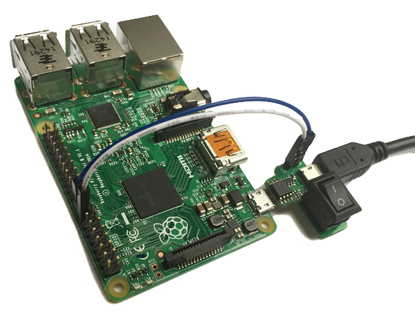 how to turn on raspberry pi after shutdown