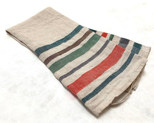Stipe Linen Tea Towel