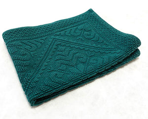 Bath Mat Peacock