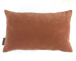 Matt Velvet Cushion Coral