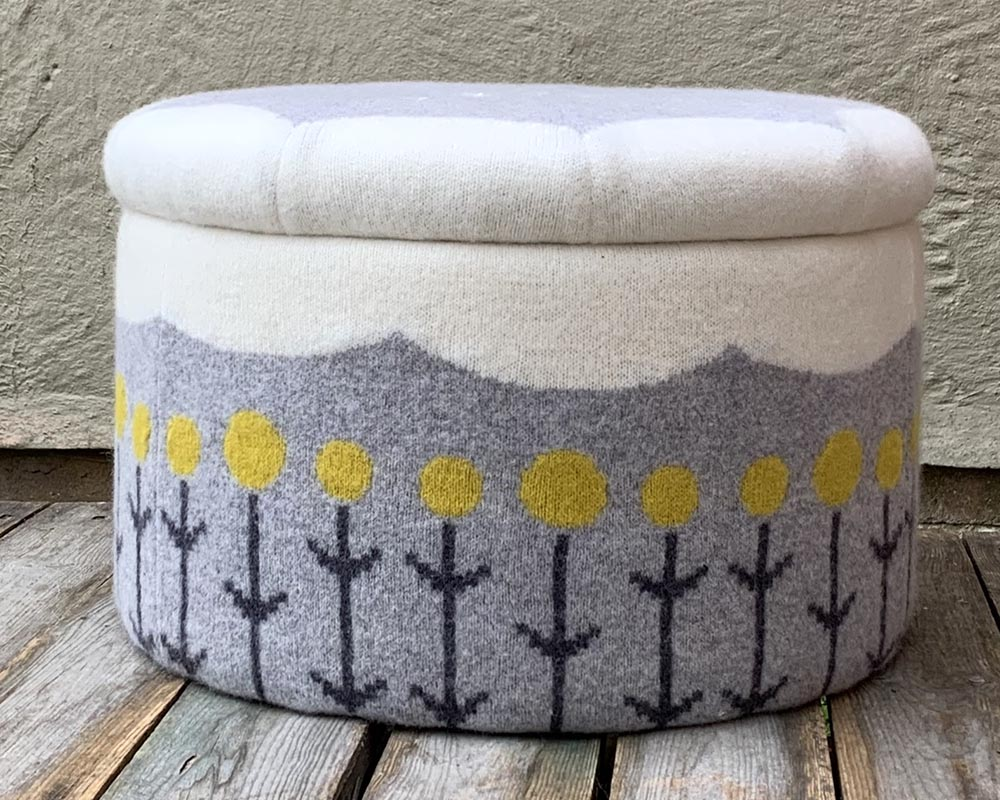 Knitted Storage Box