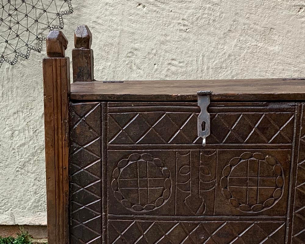 Swat Valley Wooden Chest