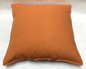 Irish Wollen Cushion Orange