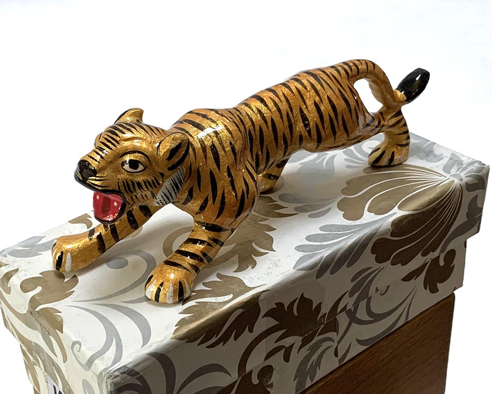 Metal Ornamental Tiger