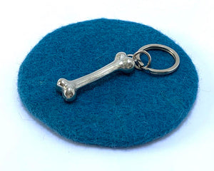Bone Key Ring