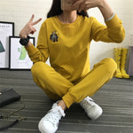 Hot Autumn Winter Tracksuit Long Sleeve Cotton Sweatshirts - Tracksuit