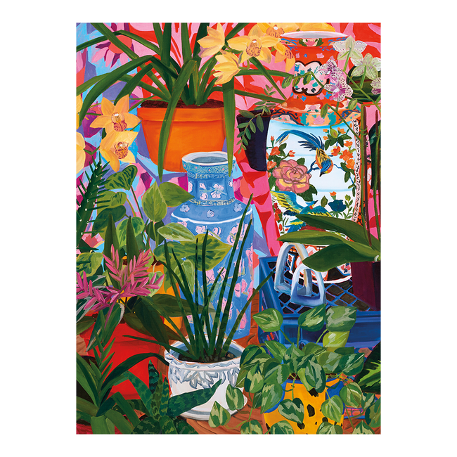 Tropical Vases Puzzle