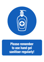 Copy of Hand Sanitiser Sign