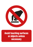 Avoid Surfaces Sign