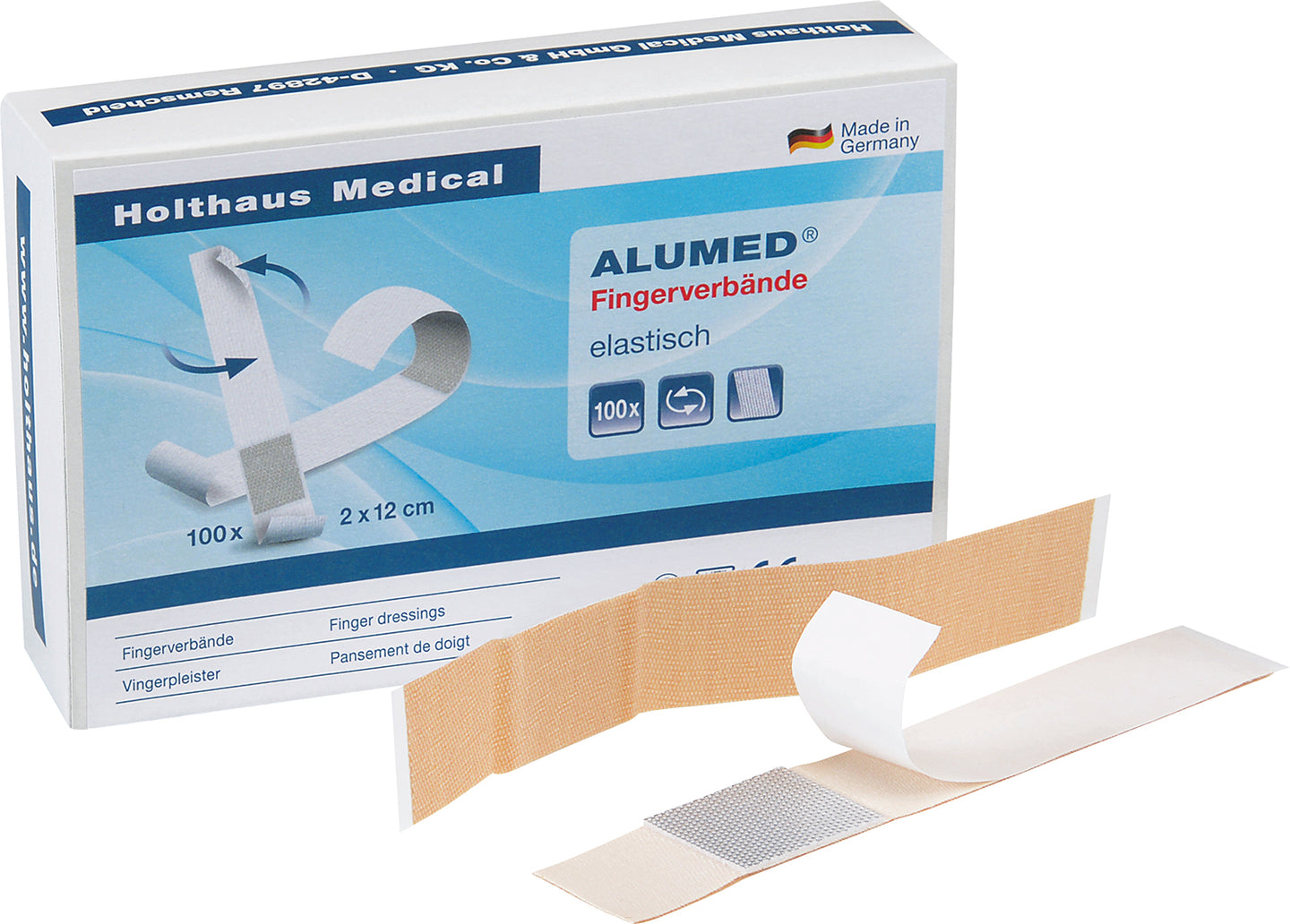 ALUMED Fingerverband, elastisch