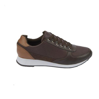 023265 Tenis Sneakers De Color Liso