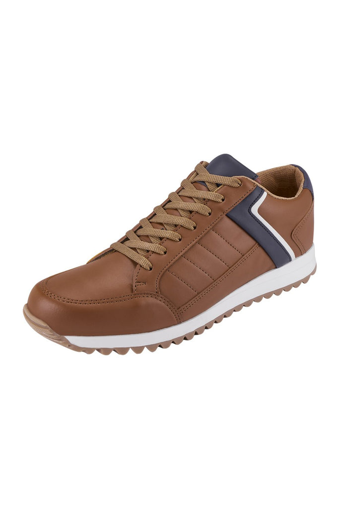 025907 Sneakers Caballero Color Camel