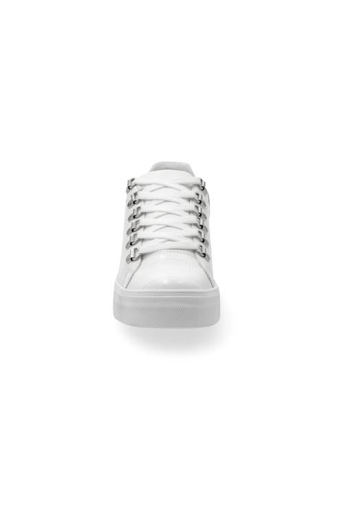 028607 Sneakers Casuales Blanco Liso