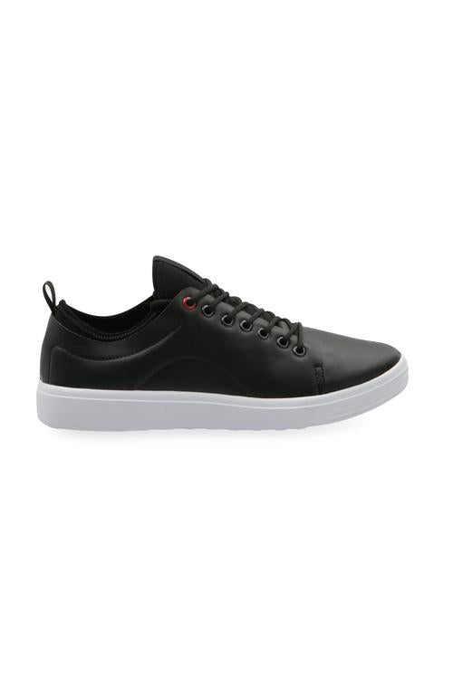 029298 Sneakers Con Agujetas Color Negro