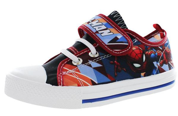 T88679 Sneakers spiderman con velcro