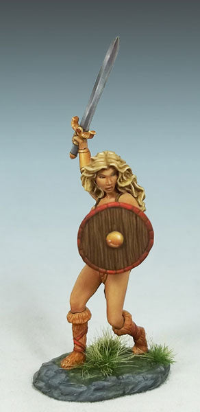 Elmore Masterworks:  Female Amazon Warrior