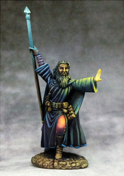 Elmore Masterworks:  Male Mage With Staff