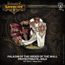 (WARMACHINE) Paladin of the Order of the Wall (Protectorate of Menoth) PIP32014