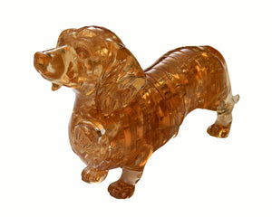 Original 3D Crystal Puzzle - Dachshund (Level 1)