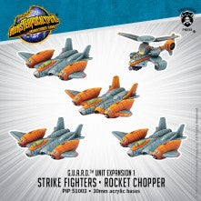 G.U.A.R.D. Unit: Strike Fighter & Rocket Chopper