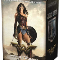 Dragon Shield Sleeves: MATTE ART: JL WONDER WOMAN 100CT.