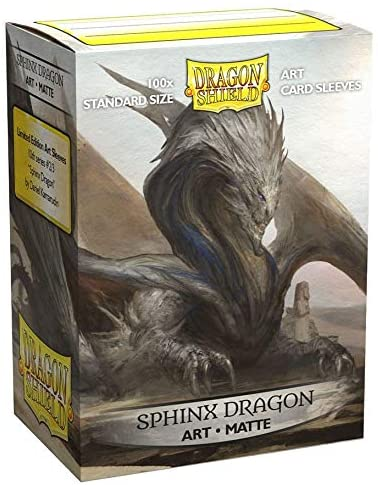 Dragon Shield Sleeves: MATTE ART: SPHINX DRAGON (BOX OF 100) - LIMITED EDITION
