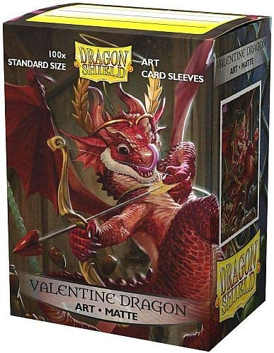 Dragon Shield Sleeves: MATTE ART: 2020 VALENTINE'S DRAGON (BOX OF 100) - LIMITED EDITION