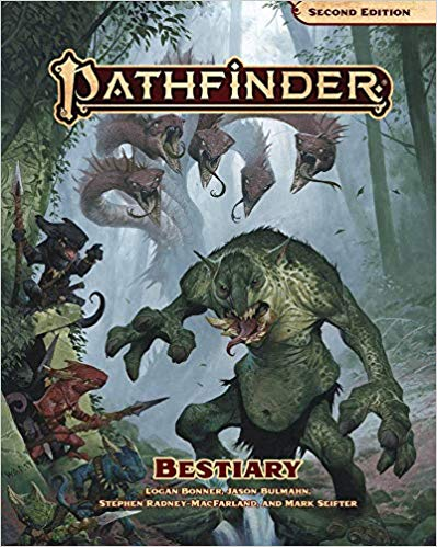 Pathfinder Bestiary (P2) 2nd Edition