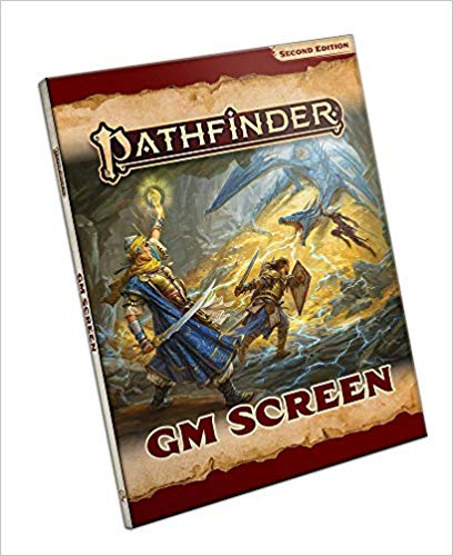 Pathfinder, Second Edition: GM Screen