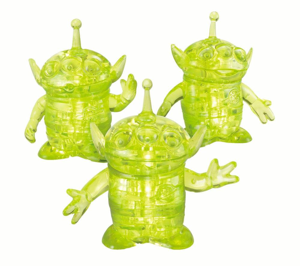 Original 3D Crystal Puzzle - Disney  - Aliens (Level 1)