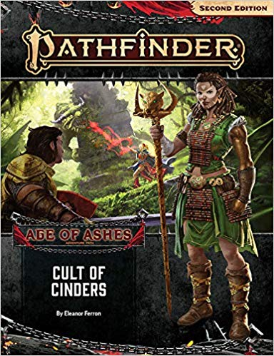 Pathfinder 2nd Edition Adventure Path: Cult of Cinders (Age of Ashes 2 of 6)