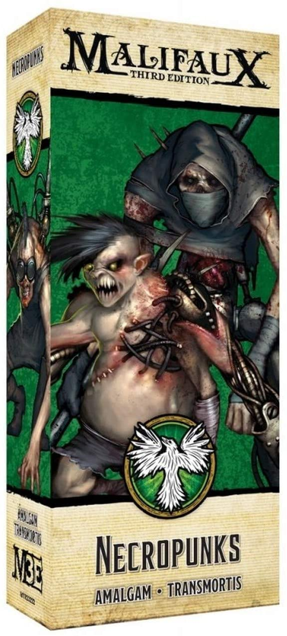 MALIFAUX 3RD EDITION: NECROPUNKS