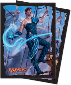 Ixalan, Jace, Cunning Castaway Deck Protector sleeves for Magic 80 count (out of print)