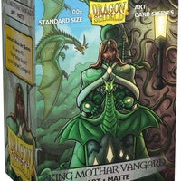 Dragon Shield Sleeves: ART MATTE KING MOTHAR VANGUARD: PORTRAIT (BOX OF 100) - LIMITED EDITION