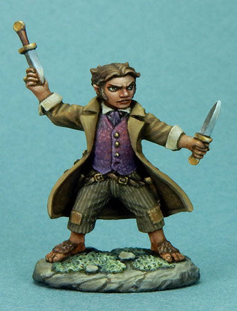 Visions in Fantasy: Halfling Rogue With Daggers