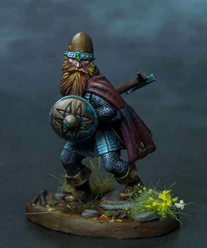 Visions in Fantasy: Dwarf Warrior With Axe