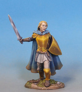 Visions in Fantasy: Female Warrior/Cleric With Weapon & Head Options