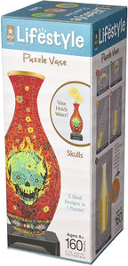 Lifestyle 3D Puzzle Vases - Skull