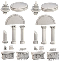 Mantic Terrain Crates: Temple